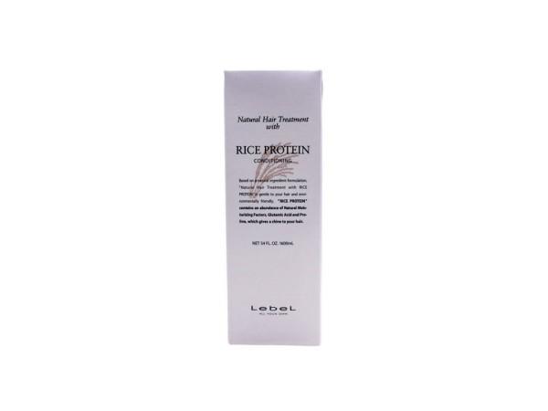 Восстанавливающая маска с протеином риса LEBEL RICE PROTEIN CONDITIONING для ухода за тонкими поврежденными волосами 1600 мл