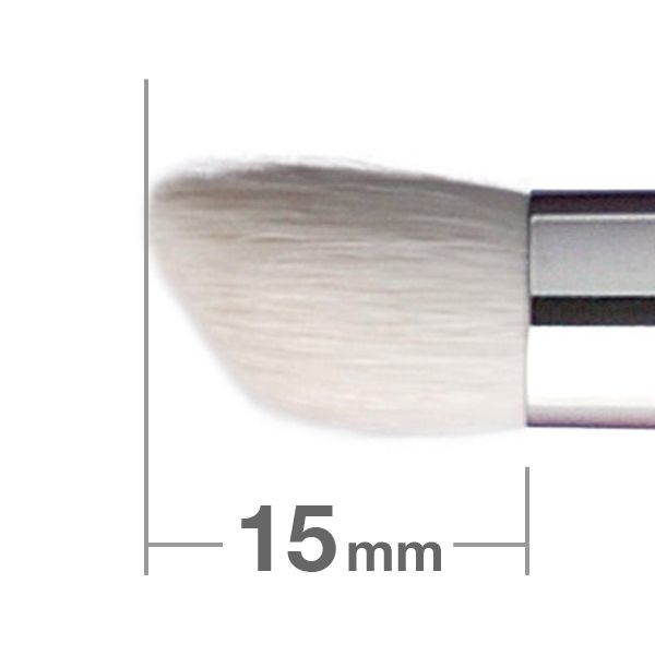 Кисть для теней Hakuhodo Eye Shadow Brush Round & Angled J122