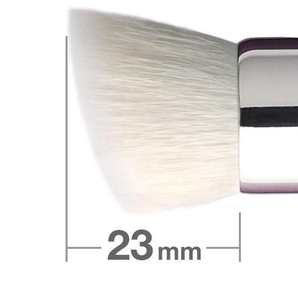 Универсальная кисть HAKUHODO Duo Fibre Brush Round & Angled B5554