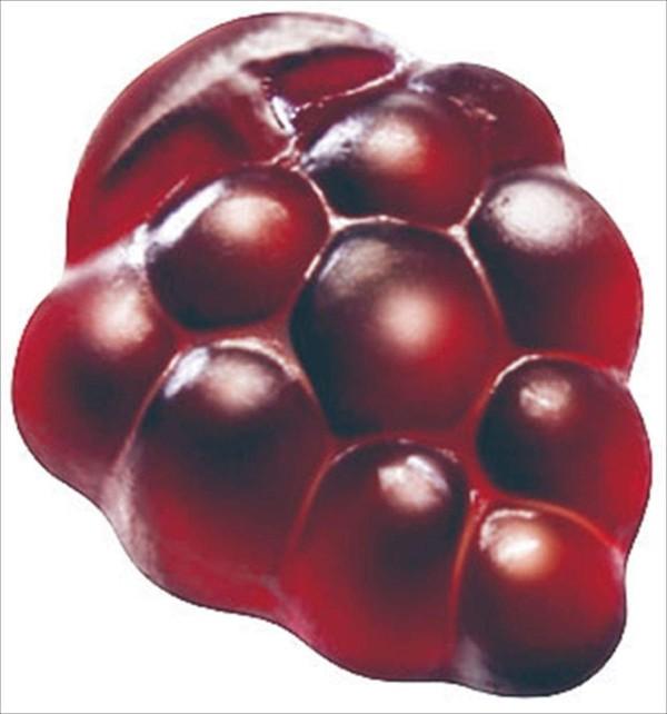 Желейные конфеты с коллагеном со вкусом винограда Meiji Fruit Juice Gummy Grape
