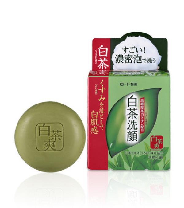 Мыло с белым чаем Shirocha Soap