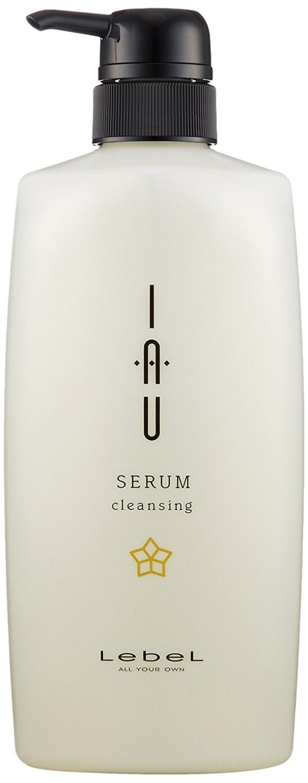 Увлажняющий арома шампунь LEBEL IAU Serum cleansing 600 мл