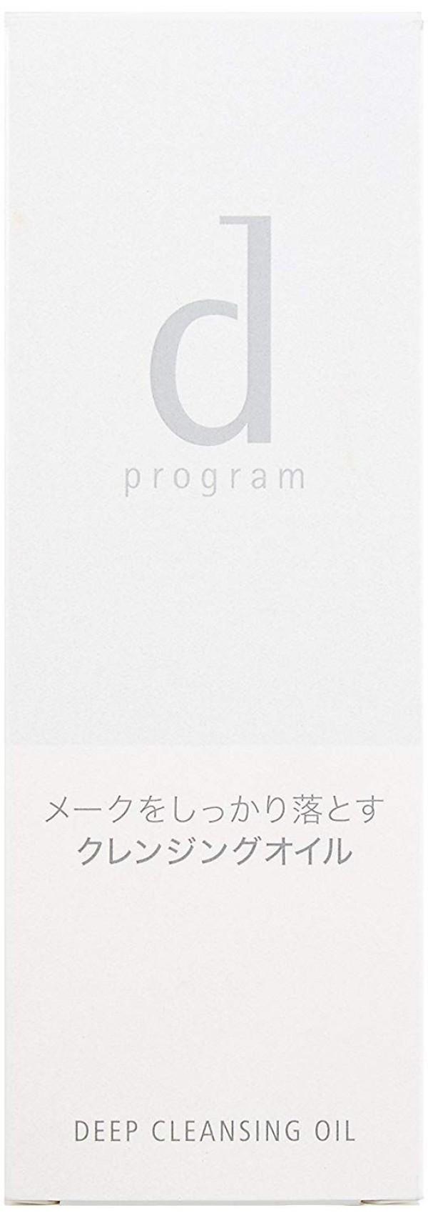 Гидрофильное масло для снятия макияжа Shiseido D Program Deep Cleansing Oil