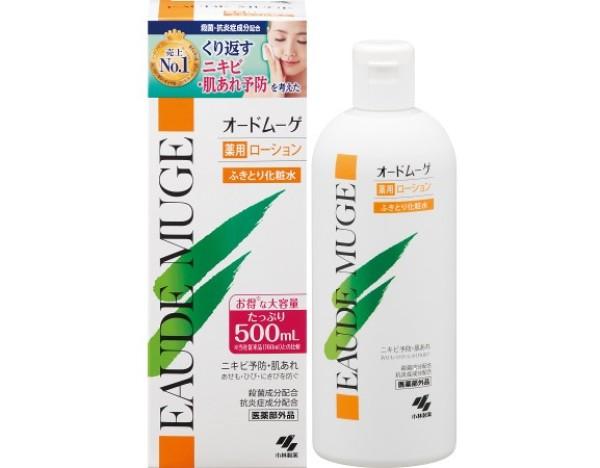 Очищающий лосьон при акне и угревой сыпи Kobayashi Pharmaceutical Eaude Muge Medicated Lotion