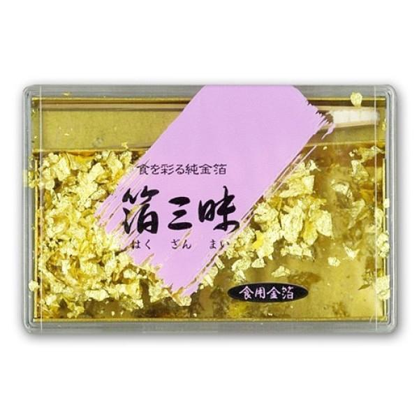 Пищевое сусальное золото (0,075 г)