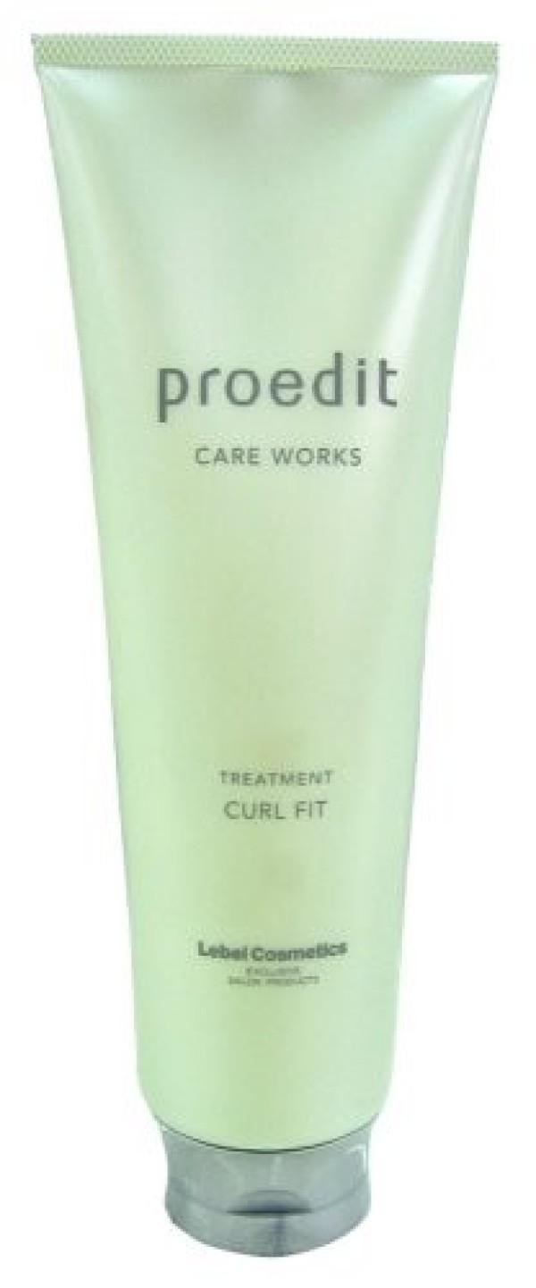 Маска LEBEL PROEDIT CARE WORKS TREATMENT CURL FIT для вьющихся волос