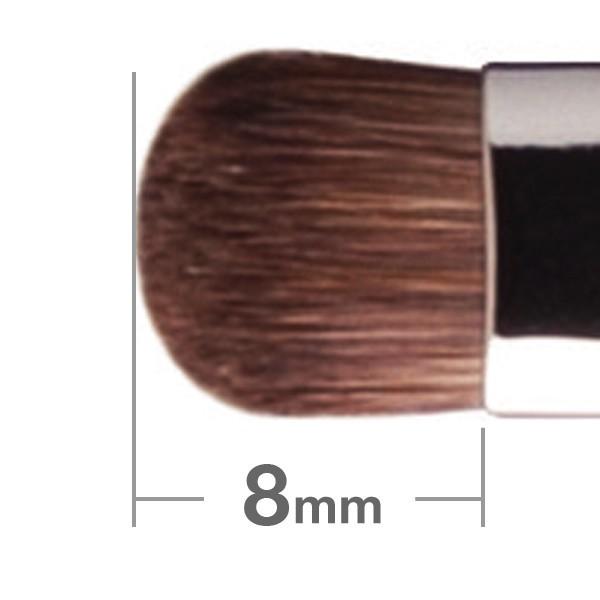 Кисть для теней HAKUHODO Eye Shadow Brush Round & Flat J138