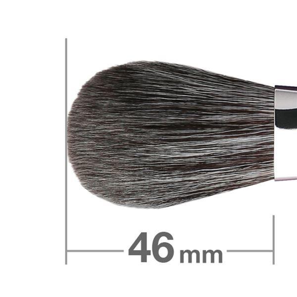 Кисть для румян HAKUHODO Blush Brush SH Round & Flat B507