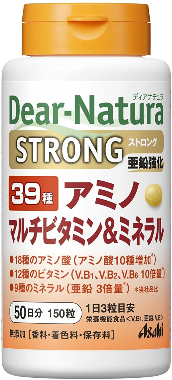Комплекс витаминов, минералов и аминокислот Asahi Dear-Natura Strong 39 Amino Multivitamins & Minerals