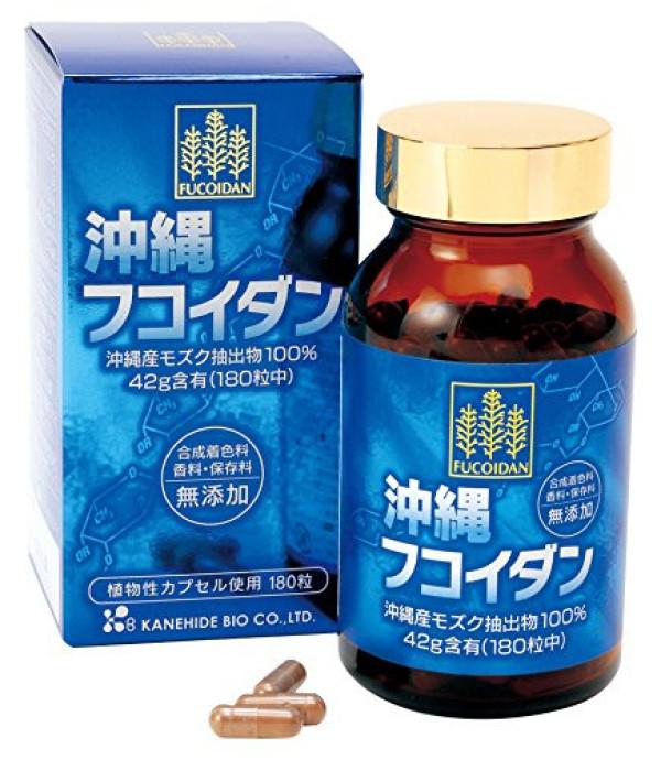 Фукоидан из Окинавы в капсулах Kanehide Bio  Co Ltd