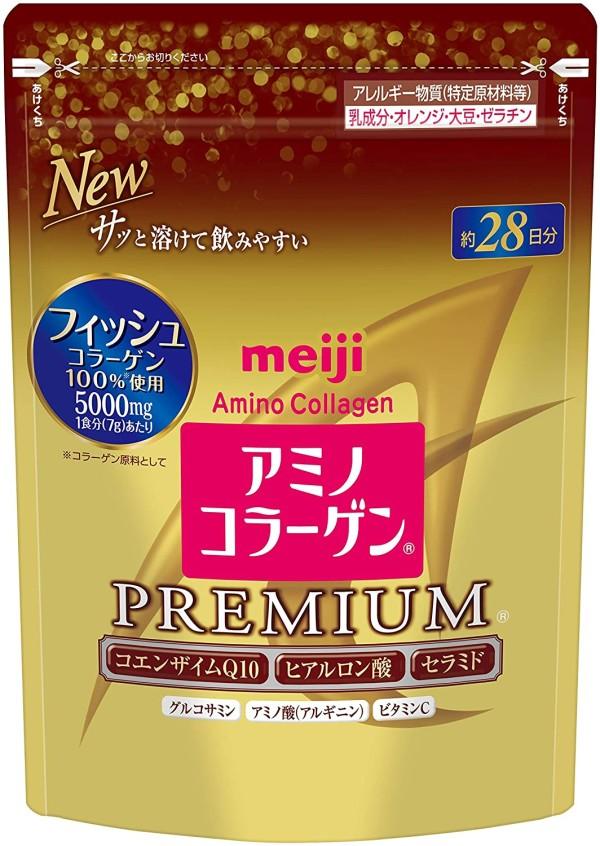 Амино-коллаген Meiji Amino Collagen Premium