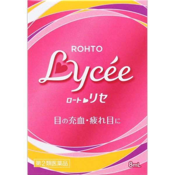 Глазные капли Rohto Lycee для снятия воспаления и усталости глаз