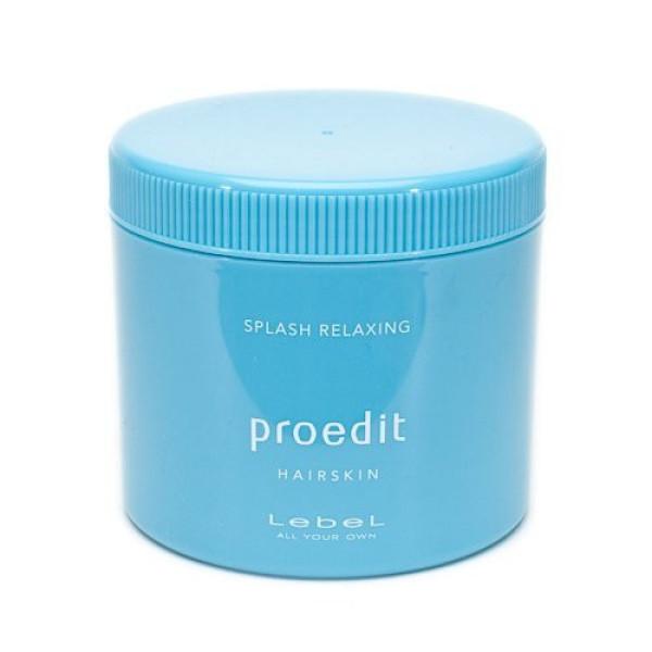 Крем-маска Lebel Proedit Hairskin Splash Relaxing для восстановления структуры волос