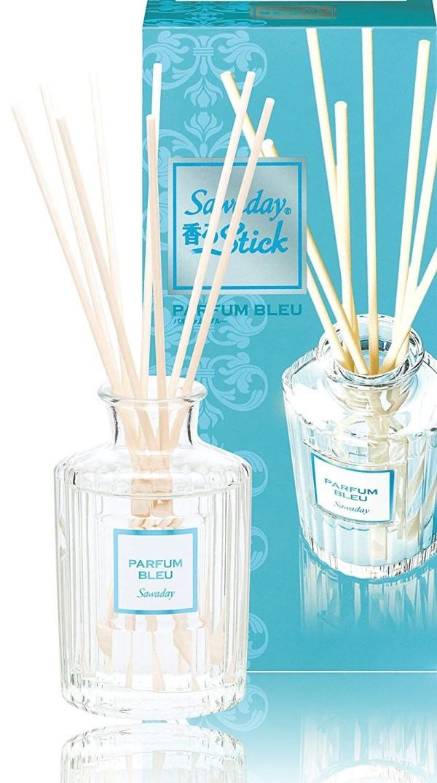 Натуральный ароматизатор для дома Sawaday Black stick Parfum Blue
