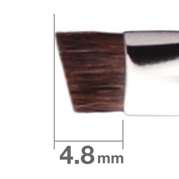 Кисть для бровей HAKUHODO Eyebrow Brush Angled J163HS
