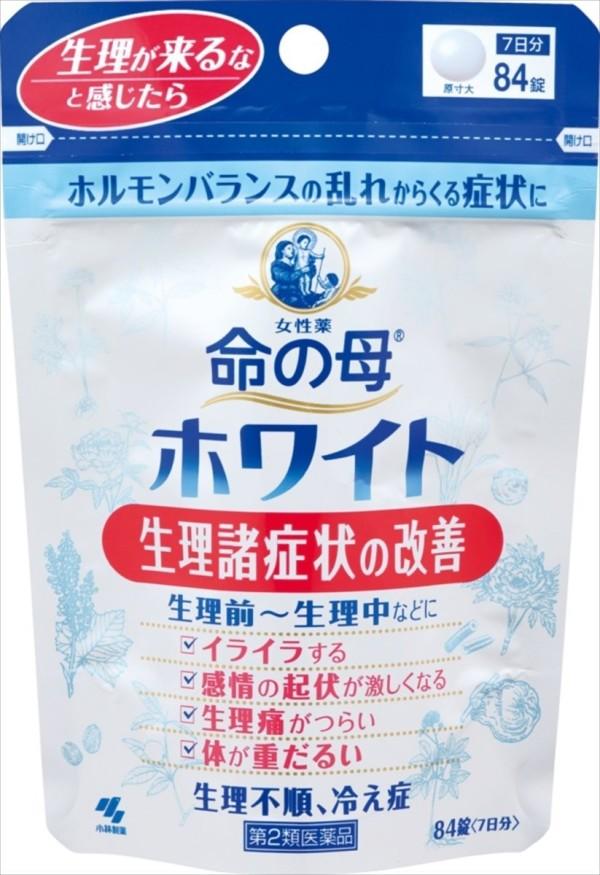 Комплекс для гормонального баланса у женщин KOBAYASHI Мать жизни Inochi no Haha White на 7 дней