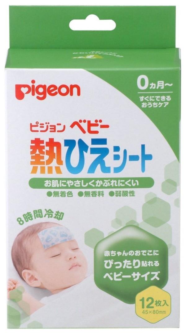 Пластыри для снижения температуры Pigeon Baby Hot Heel Sheet