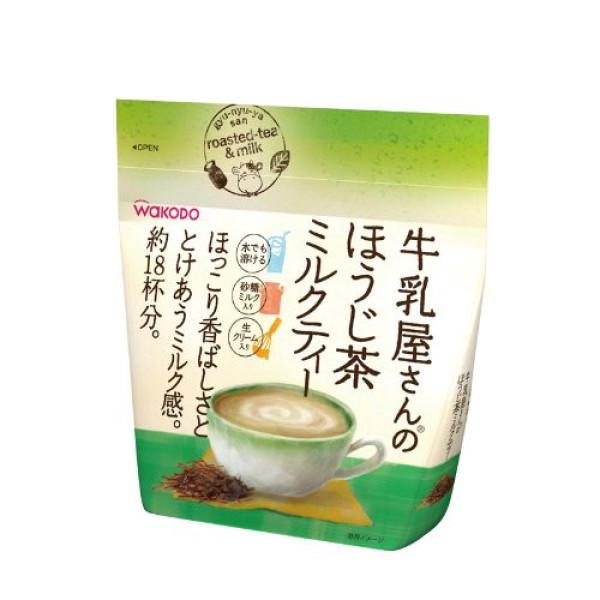 Чай ходжи с молоком Wakodo Roasted-Tea & Milk