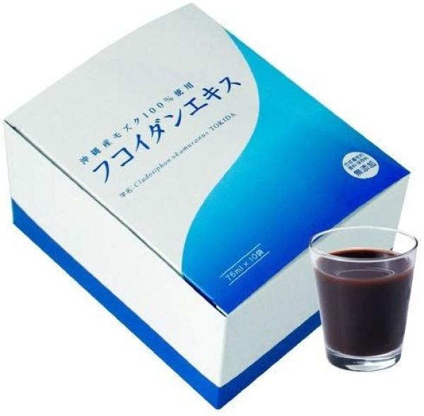 Высококонцентрированный жидкий фукоидан FUCOIDAN Kanehide на 10 дней