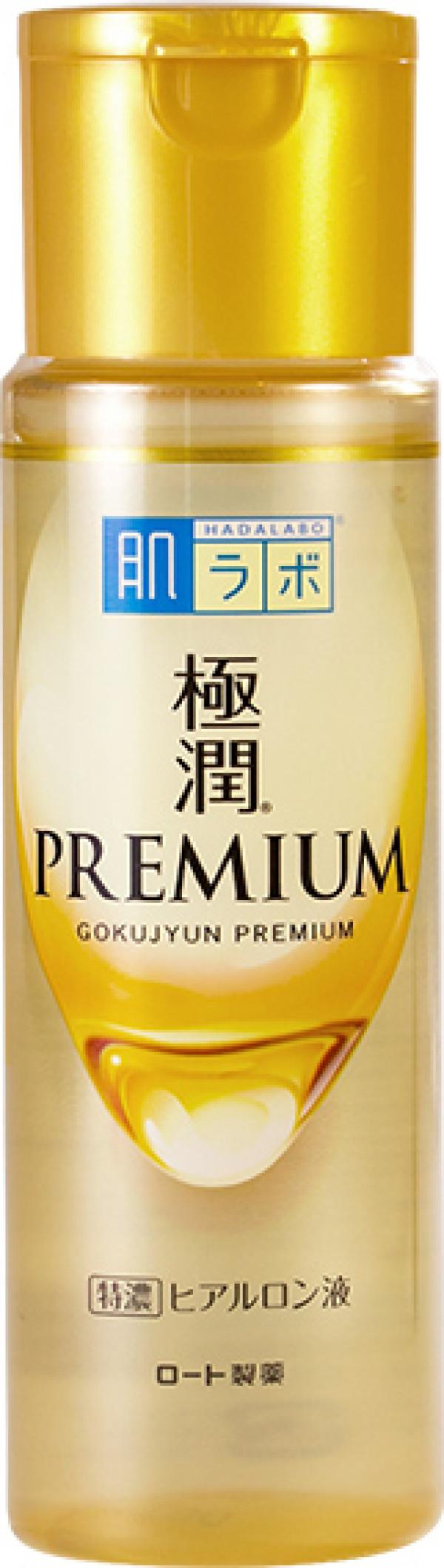 Глубоко увлажняющий лосьон Rohto HadaLabo Gokujyun Premium Super Moist Lotion