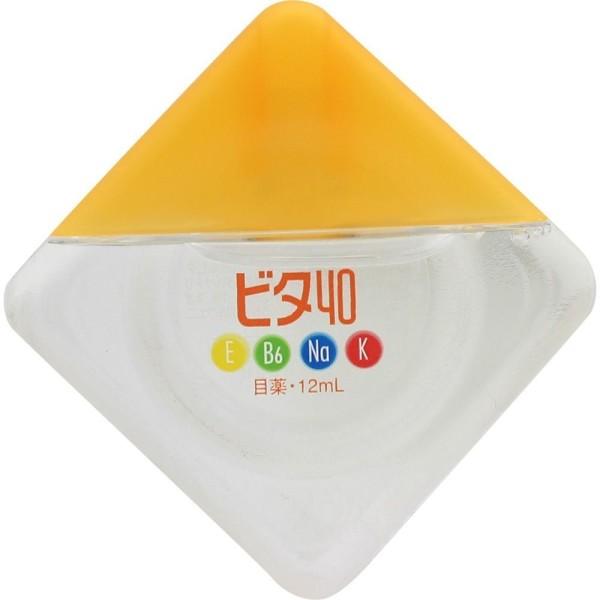 Глазные капли Rohto Vita 40 с витаминами