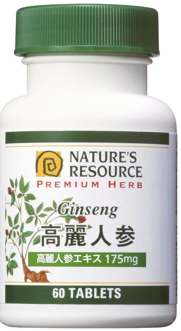 Препарат на основе женьшеня Nature's Resource Ginseng