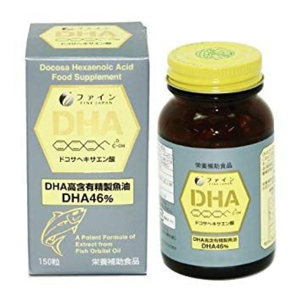 Комплекс Омега-3 DHA FINE JAPAN