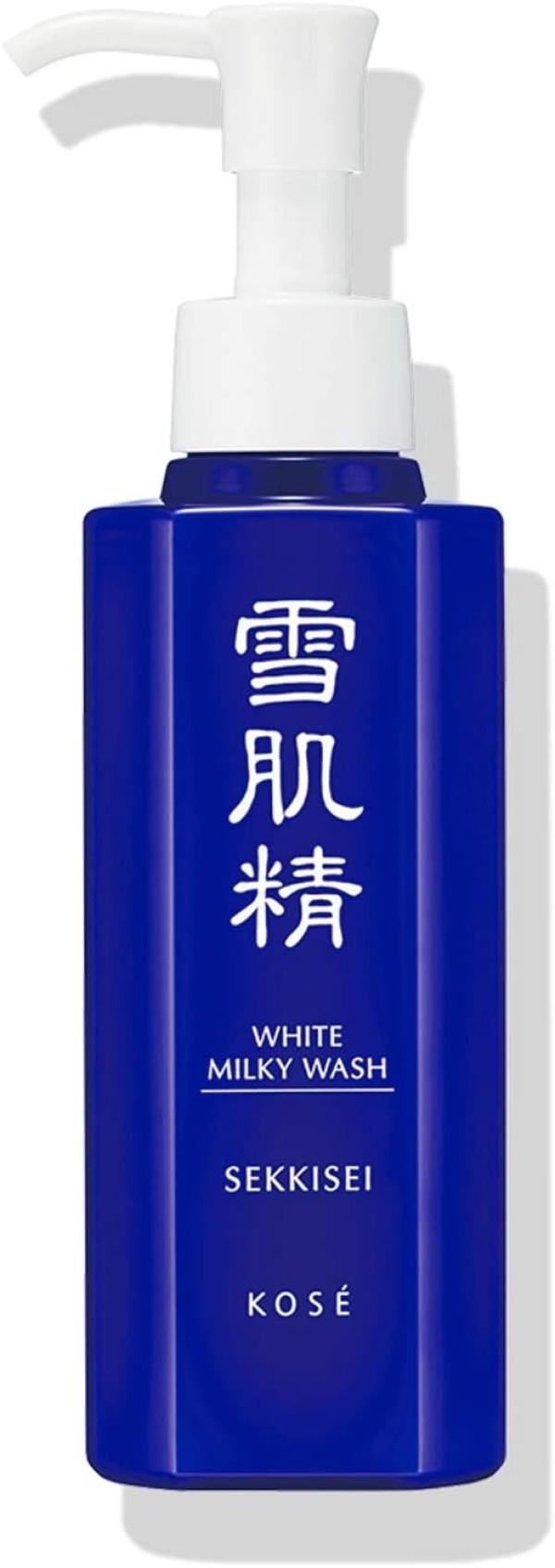 Отбеливающее молочко для умывания Sekkisei White Milky Wash