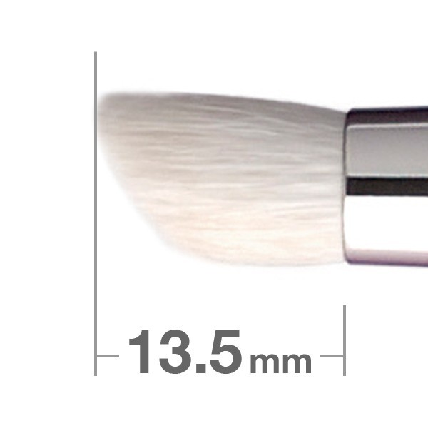 Кисть для теней HAKUHODO Eye Shadow Brush Round & Angled J125