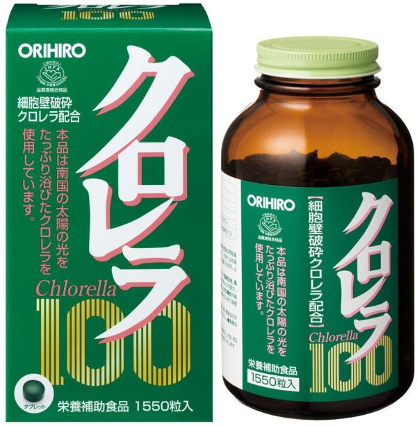 Диетический комплекс с экстрактом хлореллы Orihiro Chlorella 100