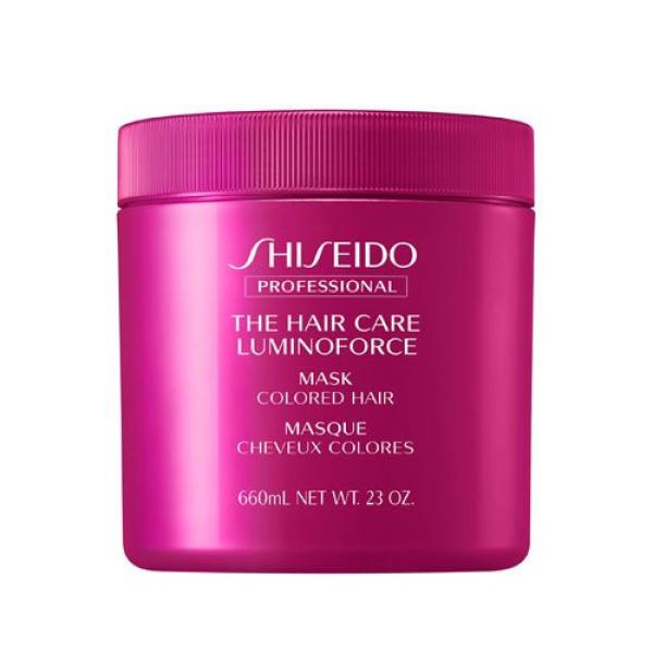 Маска Shiseido Professional The Hair Care LUMINIFORCE mask colored hair для окрашенных волос