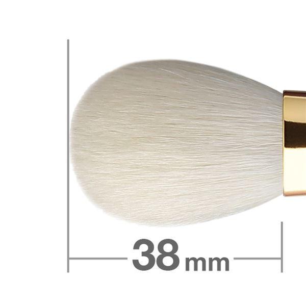 Кисть для румян HAKUHODO Blush Brush Round & Flat S110Bk