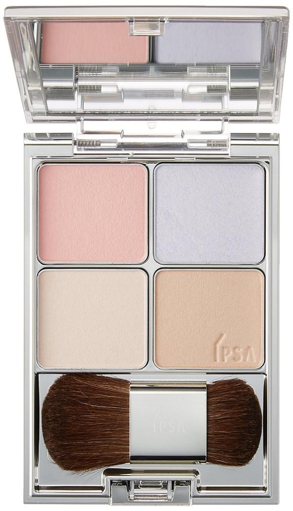 Румяна и хайлайтер Shiseido IPSA Face Color Designing Palette
