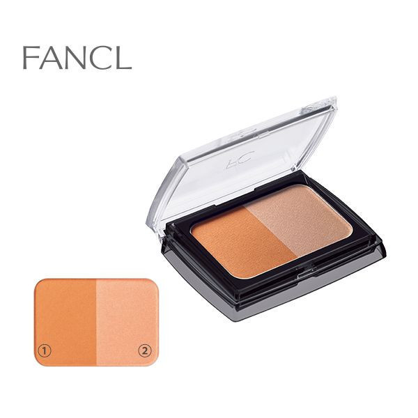 Двухцветные румяна Fancl Styling Cheek Palette