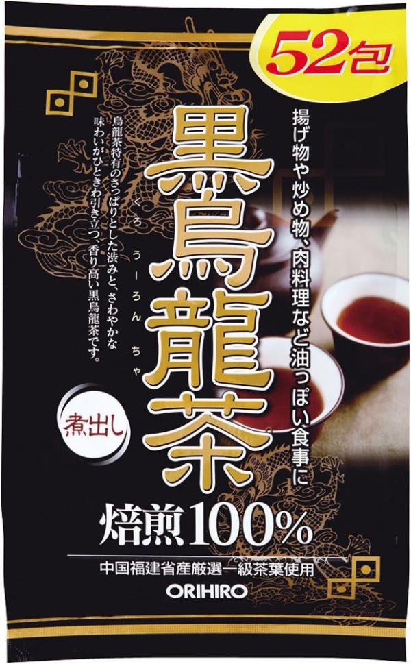 Чай улун Orihiro Black Oolong Tea