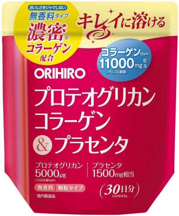 Комплекс для поддержания красоты Orihiro Proteoglycan Collagen & Placenta
