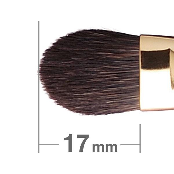 Кисть для теней HAKUHODO Eye Shadow Brush Round & Flat S121Bk