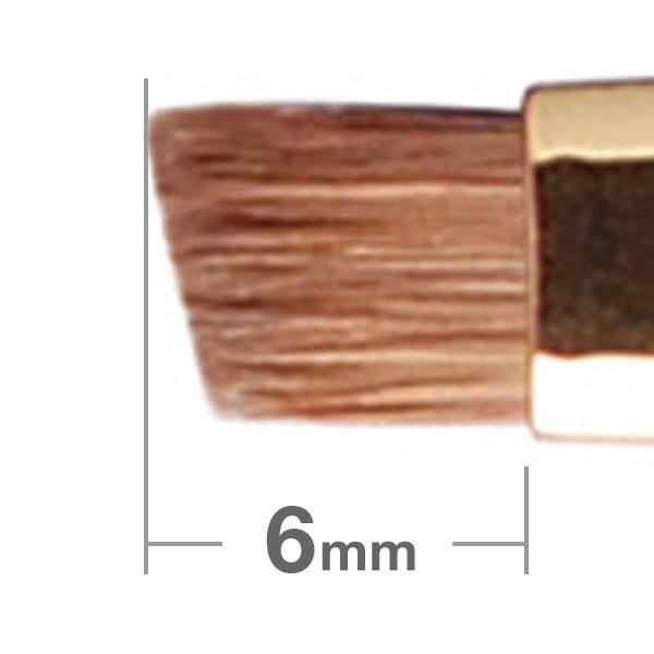Кисть для бровей HAKUHODO Eyebrow Brush Angled S162Bk