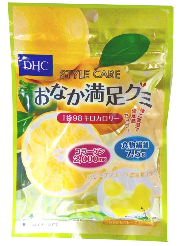 Желейные конфеты  с коллагеном и гиалуроновой кислотой DHC со вкусом грейпфрута