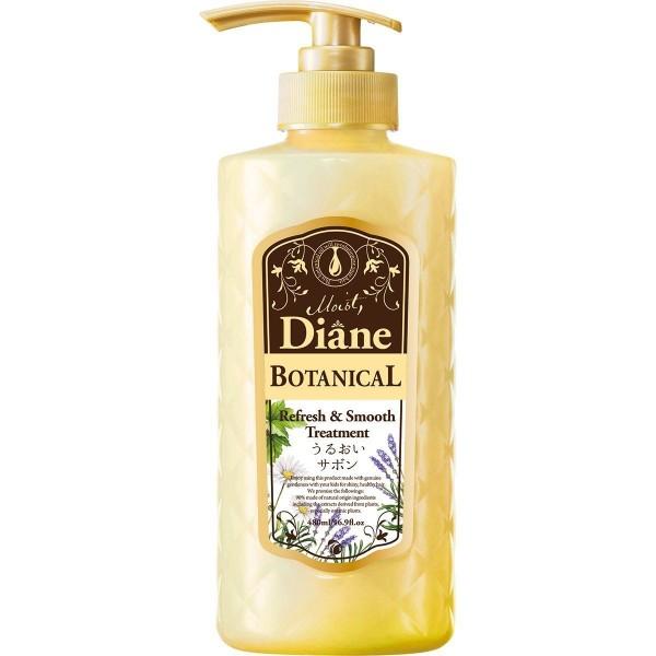 Освежающий и разглаживающий кондиционер Moist Diane Botanical Refresh&Smooth Treatment