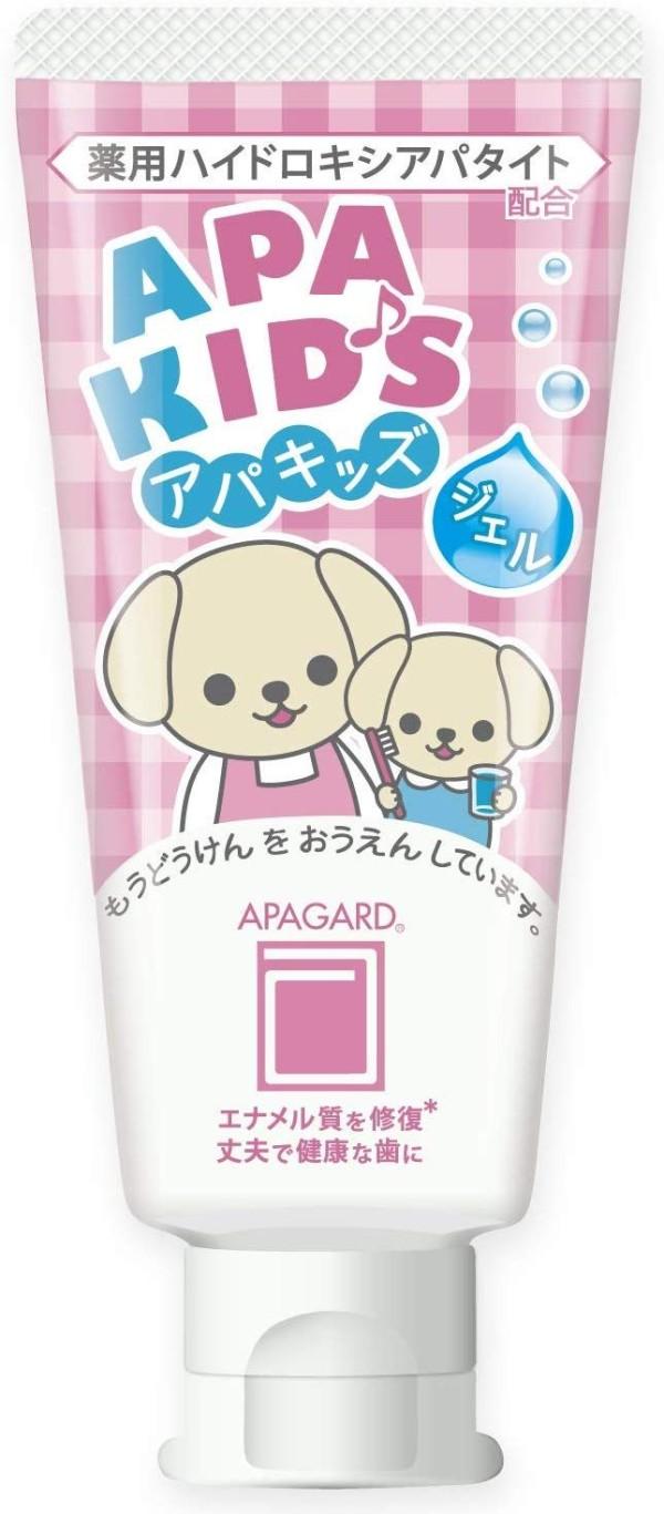 Детская зубная паста - гель Apagard Apa Kids со вкусом клубники