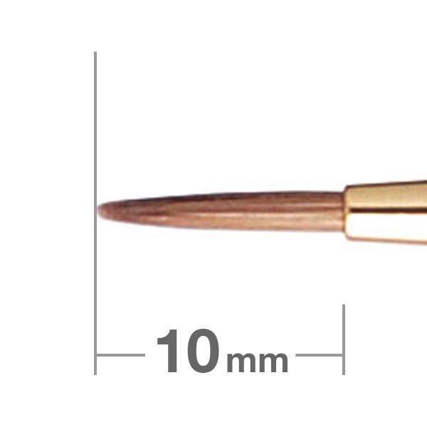 Кисть для подводки HAKUHODO Eyeliner Brush Round S190Bk