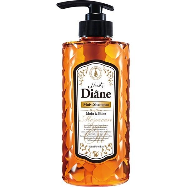 Восстанавливающий увлажняющий шампунь Diane MOIST SHAMPOO с аргановым маслом