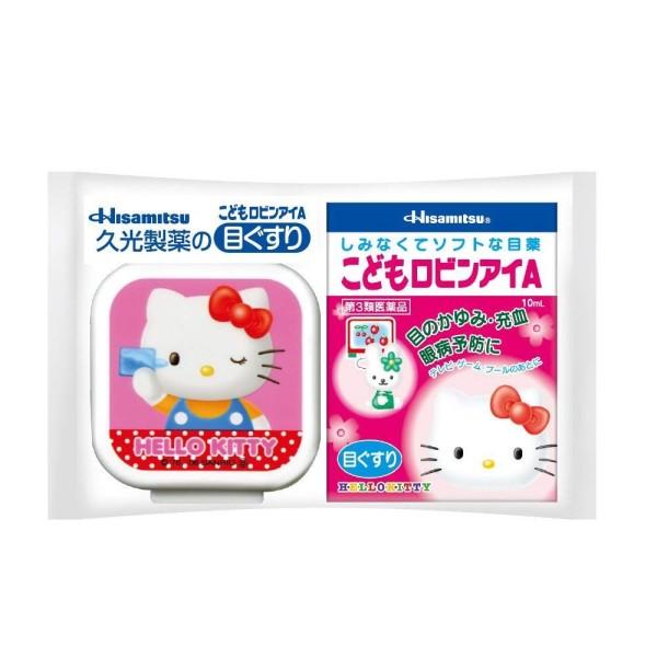 Детские глазные капли Hisamitsu Hello Kitty