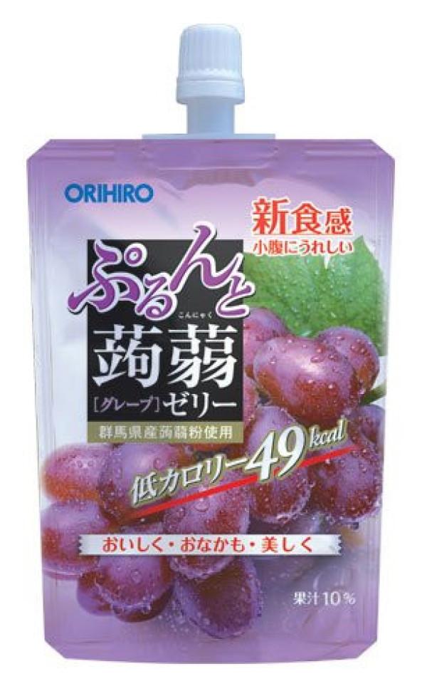 Фруктовое желе из конняку Orihiro