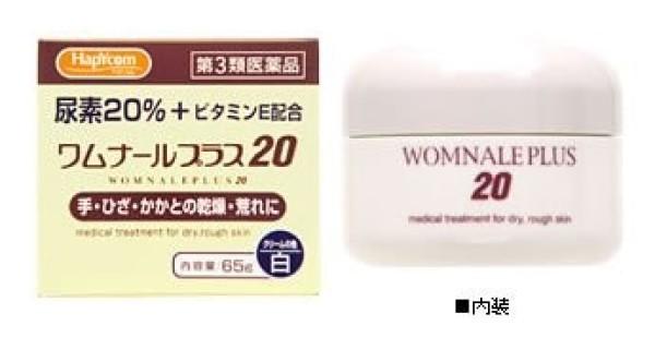 Крем Hapycom Womnale Plus 20 для сухой и грубой кожи с витамином Е