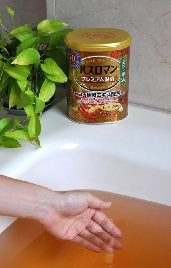 Согревающая соль для ванн Bath Roman Premium с травами