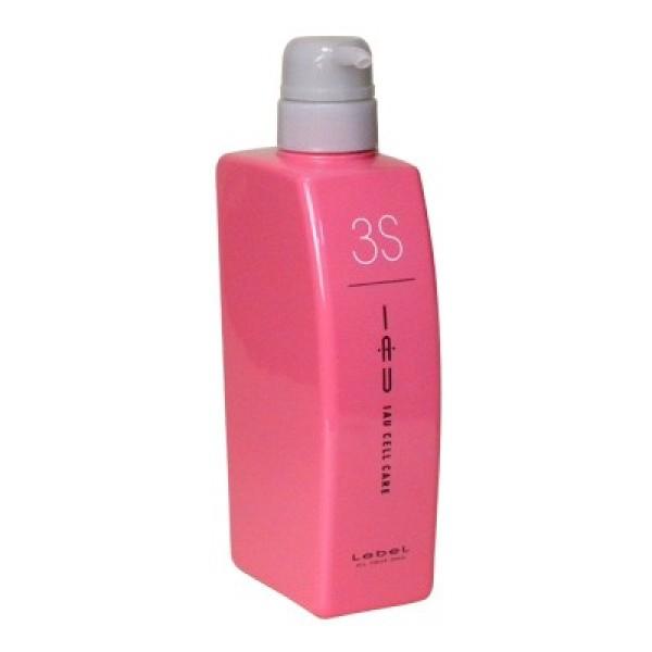 Крем серии Счастье для волос  LEBEL IAU CELL CARE 3 S для придания волосам шелковистости, мягкость и объёма 500 мл