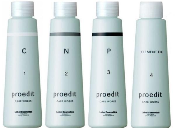 Набор сывороток Счастье для волос Lebel PROEDIT CARE WORKS CMC (С), NMF (N), PPT (P), Element fix