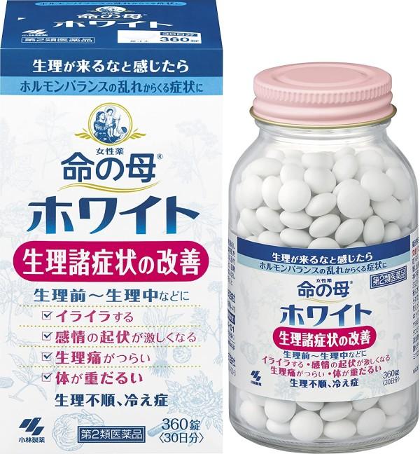 Комплекс для поддержания женского здоровья KOBAYASHI Мать жизни Inochi no Haha White от 20 до 40 лет на 30 дней